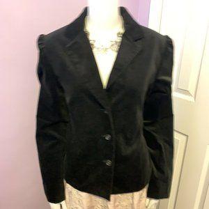 Mixit Stretch Black Velvet Jacket Ruched 8